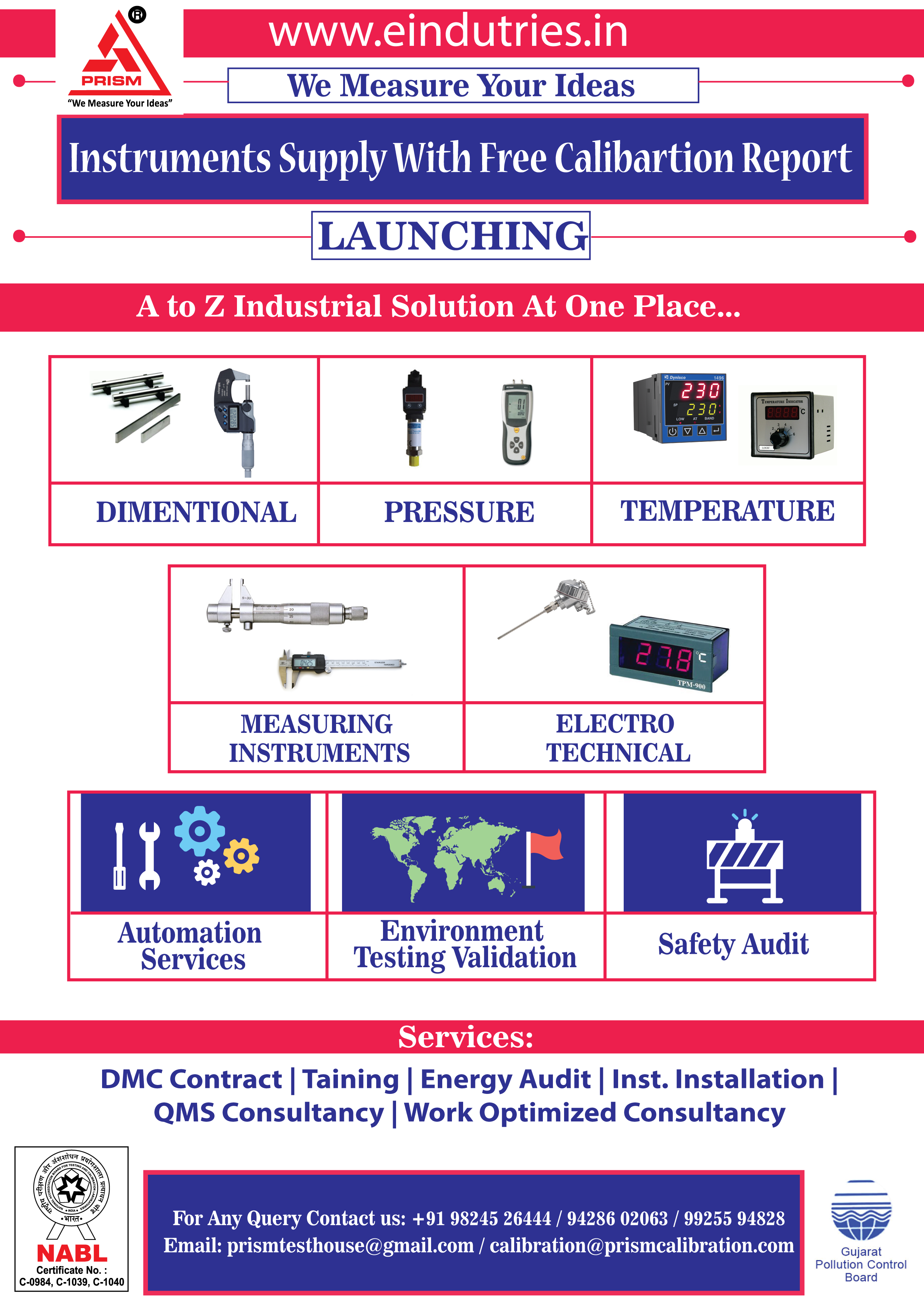 A TO Z INDUSTRIAL INSTRUMENTS SUPPLIER @ REASONABLE RATES & GOOD QUALITY