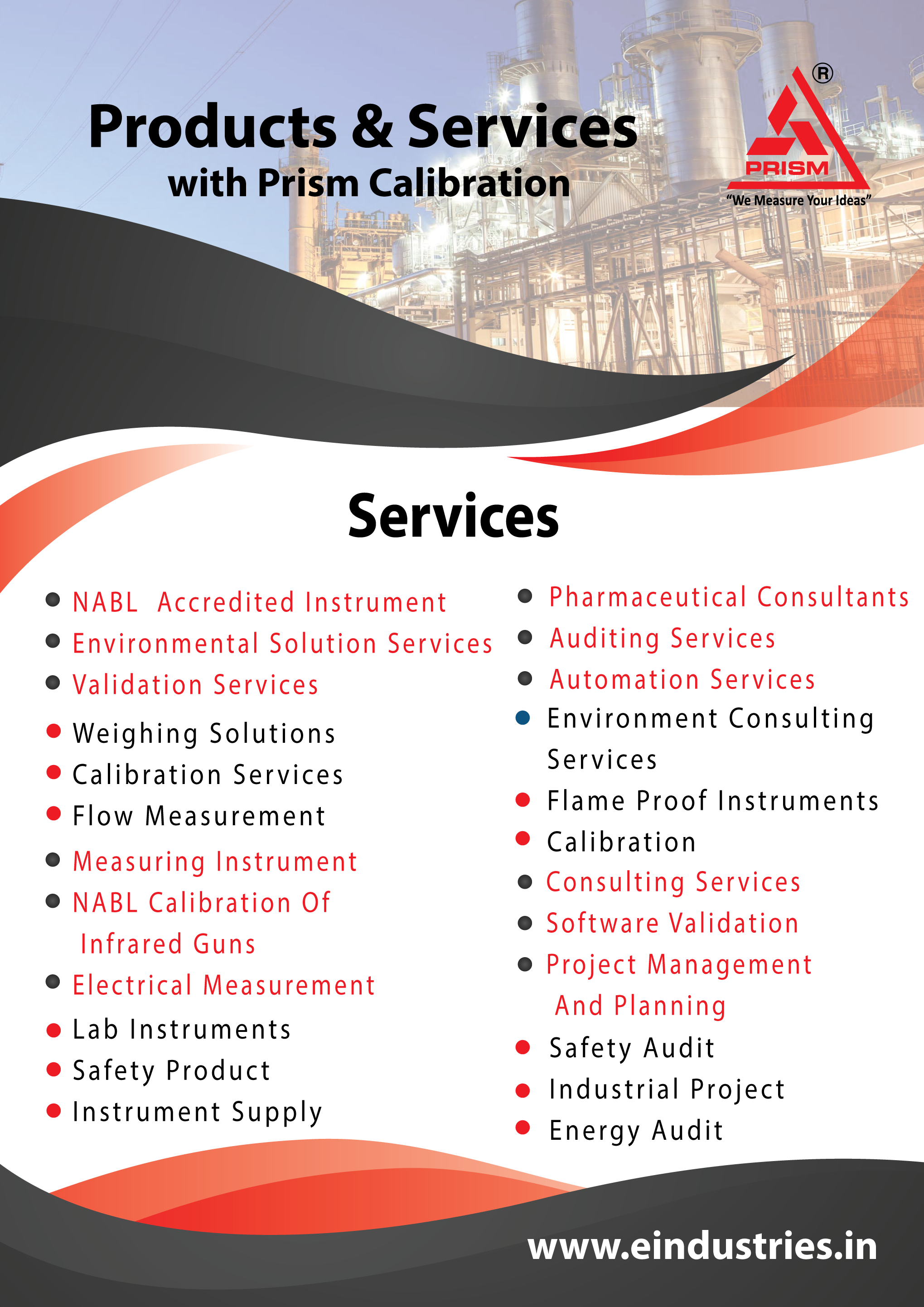 Services And Products @ single step @ prism