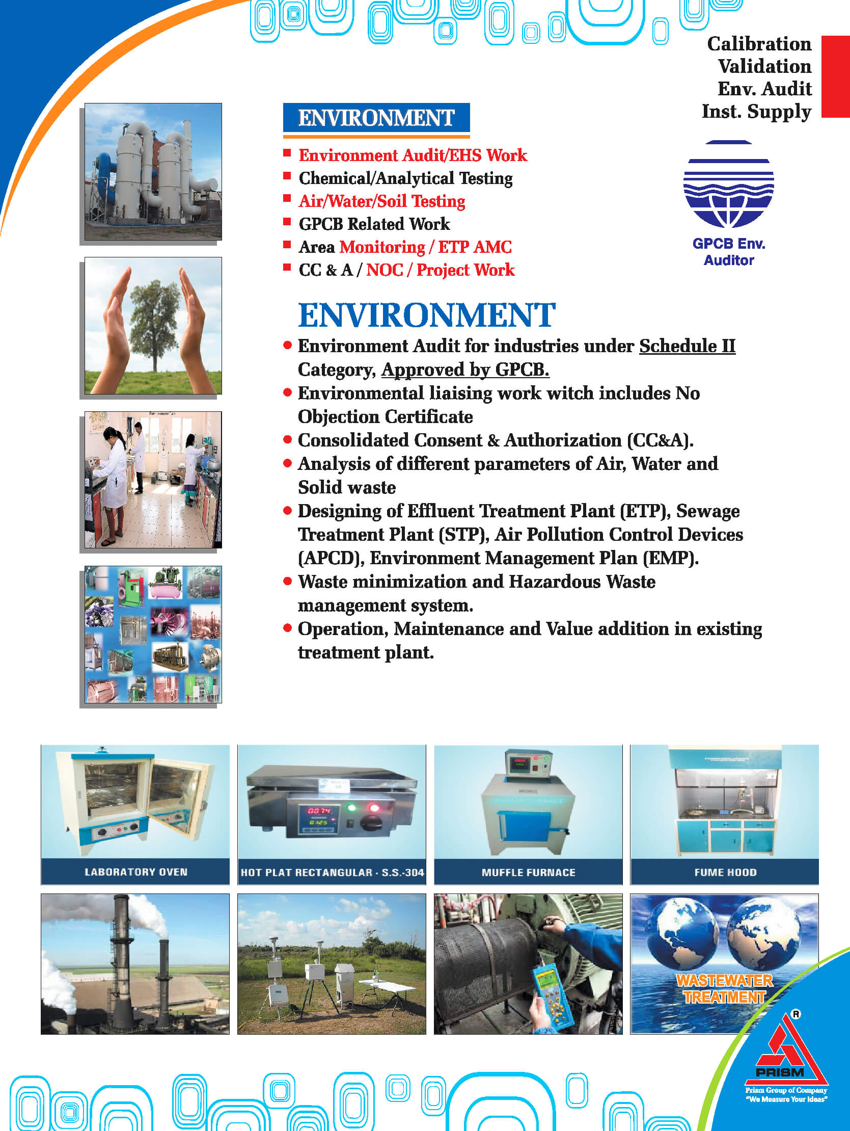 Water And waste water Analysis services IN AHMEDABAD